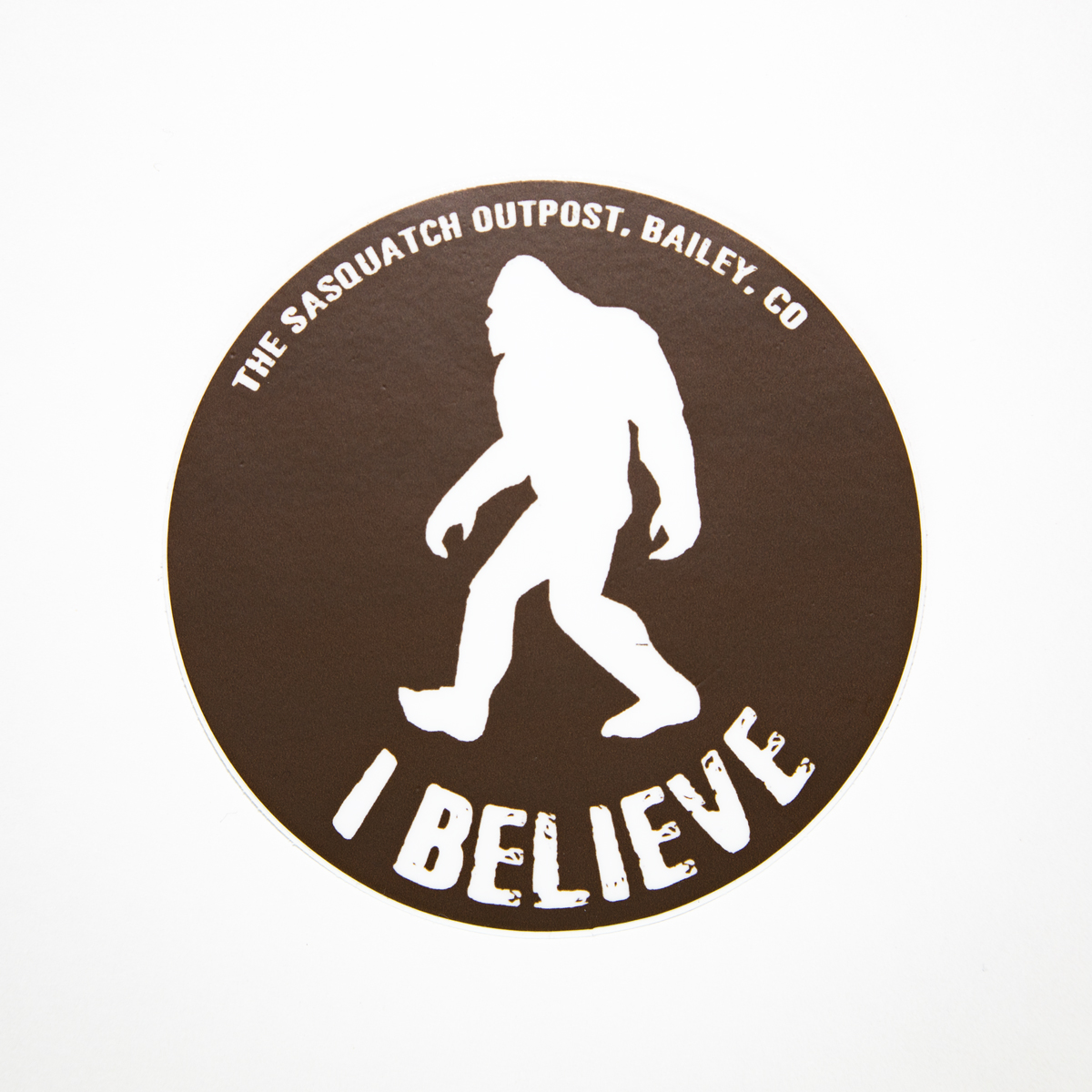 Premium Quality Sasquatch Mystery Research Team Sticker GI Bigfoot Decal Sticker Vinyl 5 X 5